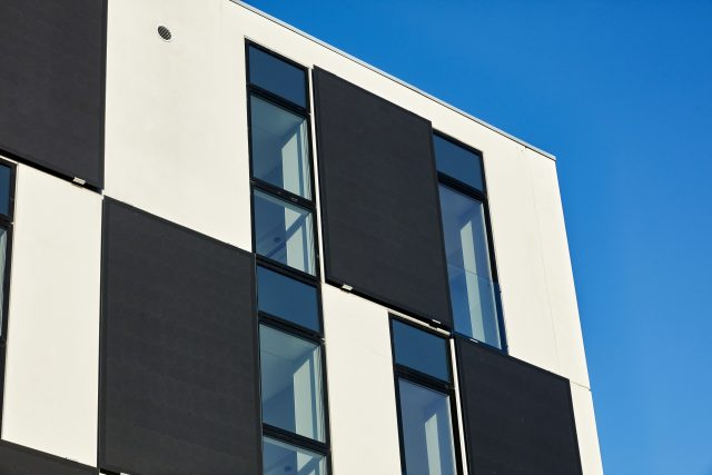 Bolig+ detaljer fra facade